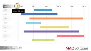 Garnt Chart Gantt Chart By Maq Software