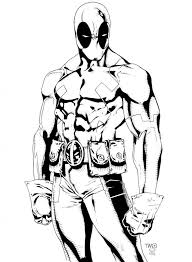 Free Printable Deadpool Coloring Pages For Kids Immortal Heroes