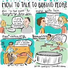 boring people. boring people o