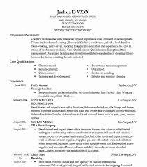 Best Package Handler Resume Example Livecareer