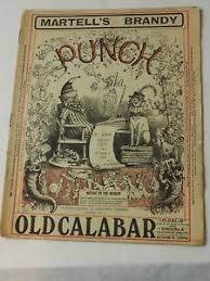 Punch Magazine Martell's Brandy March 6,1918 Very Good Plus | eBay