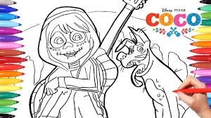 Find the best disney coloring pages for kids & for adults. Coco Disney Movie Coloring Pages How To Draw And Color Coco Miguel And Dante For Kids Youtube
