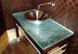 bathroom vanities with glass tops original inspirational in