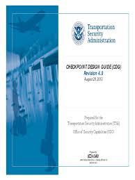 Checkpoint design 0 Security pdf cdg 4 Transportation guide rev 6OgUnq7x6r