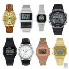 casio classic amp retro digital watch in silver black gold for image is loading casio classic amp retro digital watch in silver