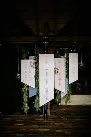 Hanging Chart Stand 25 Modern And Creative Seating Chart Ideas Weddingomania