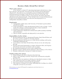 20 Study Abroad On Resume Example Sendletters Info