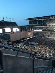 Lincoln Financial Field Seating Chart Rolling Stones Lincoln Financial Field Section C3 Home Of Philadelphia
