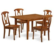 5 Pc Small Kitchen Table Set Kitchen Table And 4 Kitchen Chairs