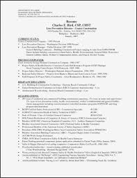 Resume Templates. Resume Template Construction Worker: Construction ...
