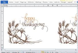 Best Thanksgiving Templates For Microsoft Word Fascinating Free Invitation Card Templates For Word