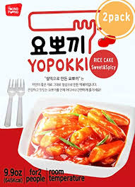 Jual Instant Tteokbokki Rice Cake Pack Of 2 Popular Korean Snack