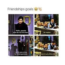 Friends Tv Show Quotes About Friendship