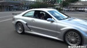 Mercedes CLK DTM AMG Acceleration - YouTube