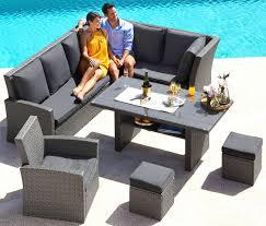 Sitzlounge Balkon Einfach 37 Reizend Garten Lounge Mit Esstisch