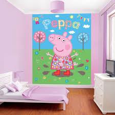 Peppa Pig Bedroom Furniture Walltastic Wallpaper Wall Murals Kids Bedroom Peppa Avengers