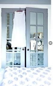 mirror doors for closet french mirrored doors mirror bifold closet doors parts