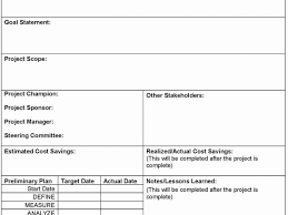project charter construction construction cost estimate template and project charter template for