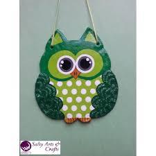 owl decor owl wall hanging owl wall decor green owl decor green owl nursery decor polka