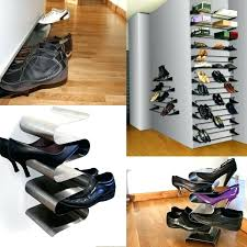 shoe wall mount new wall mounted shoe shelves in wall mount brackets for shoe cabinet wall mounted wall mounted shoe display case