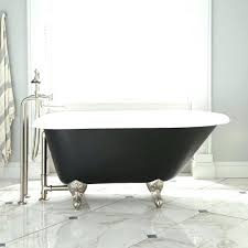 black cast iron tub ball claw feet bathroom kohler bathtubs reviews