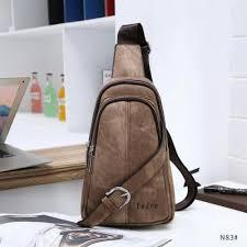 pedro fernando leather sling bag for man n83w - Tas~Waist Bag » Fashion  Pria » - Tokopedia.com | inkuiri.com