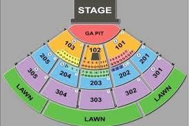 Toyota Amphitheater Detailed Seating Chart 18 Judicious Sleep Train Amphitheatre Seating