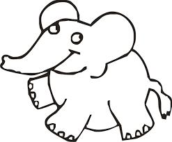 Disegni Maestra Mary Con Animali Da Colorare Facili E Elefantino