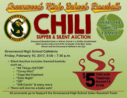chili supper flyer