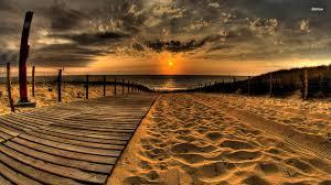 Beach Sunset Desktop Wallpapers on ...
