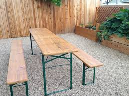 beer garden table. Blue Beer Garden Outdoor Dining Collection World Market Table