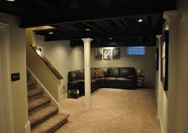 painted basement ceiling ideas. Ideas Painting Basement Ceiling Painted E