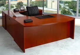 wrap around office desk. executive desk u shape cherry wrap around office