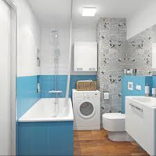 Blue Grey Small Bathrooms Blue And Grey Bathroom