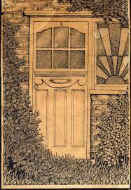 front door drawing. Gillyroots Front Door Drawing R