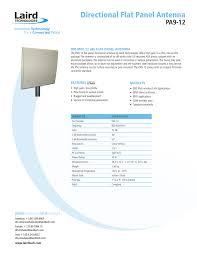 Flat Panel Antenna Design Directional Flat Panel Antenna Pa9 12 Technology Connected
