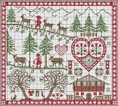 Christmas Cross Stitch Charts 316 Best Christmas Cross Stitch Images Cross Stitch