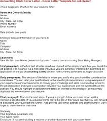 Accounting Clerk Cover Letter Accounts Receivable Clerk Cover Letter Example Sample Accounting