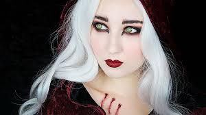 little red riding hood werewolf makeup tutorial