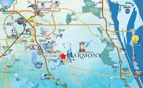 location  harmony fl