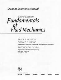 fundamentals of fluid mechanics 7th edition solution manual pdf munson b r yong d f fundamentals of fluid mechanics