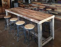 outstanding reclaimed wood bar restaurant counter community rustic custom regarding wood restaurant tables popular