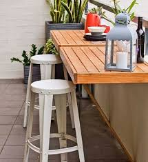 table ideas for small balcony dining