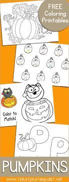 Free Pumpkin Coloring Printables