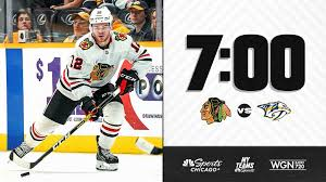 Preview Blackhawks At Predators Nov 16 2019
