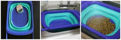 over the sink colander colander review squish britt s blurbs