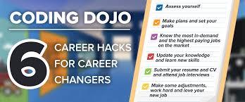 Career Changer 6 Career Hacks For Career Changers Coding Dojo Blog