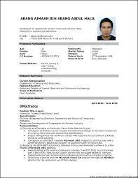 American Curriculum Vitae Format Curriculum Vitae Format Pdf New American Cv Template Ro