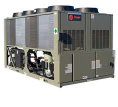 air cooled chillers trane commercial scroll model cgam