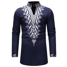 African Print Men S Shirt Designs 2019 2019 New Arrival Men Shirts Mens Autumn Winter Luxury African Print Long Sleeve Dashiki Shirt Top Blouse Camisa Masculina 3 From Grege 41 81